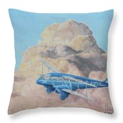 de Havilland Dragon Rapide Throw Pillow