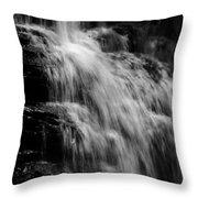 De Soto Falls 2 Throw Pillow