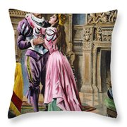 De Soto & Isabella, 1539 Throw Pillow
