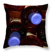 De-vine Wine Throw Pillow
