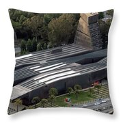 de Young Museum in San Francisco Throw Pillow