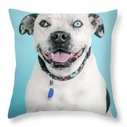 Deacon 3 Throw Pillow