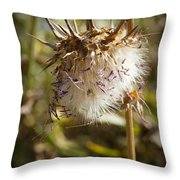 Dead Artichoke Throw Pillow