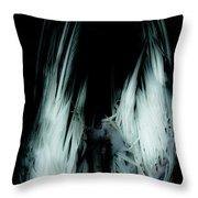 Dead Bird Grey Throw Pillow