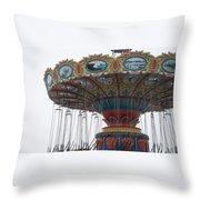 Dead Carnival Throw Pillow