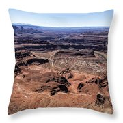 Dead Horse State Park Throw Pillow
