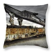 Dead Lift Throw Pillow