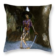Dead Men Tell No Tells Throw Pillow by David Lee Thompson