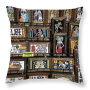 Dead Plaques  Throw Pillow