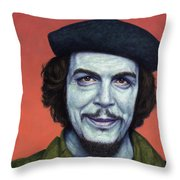 Dead Red - Che Throw Pillow