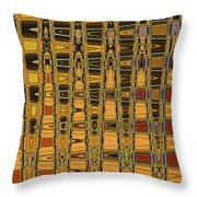 Dead Tree Abstract Throw Pillow