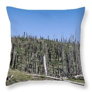 Dead Wood Throw Pillow