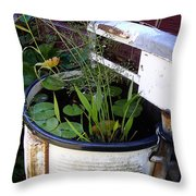 Dead Wringer Throw Pillow