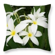 Deadly Beautiful Throw Pillow