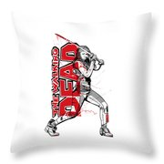 Deadly Michonne Throw Pillow