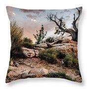 Deadwood Sunset Throw Pillow