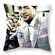 Dean Martin Throw Pillow