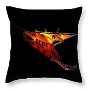Dean Razorback - 7 String Guitar Throw Pillow