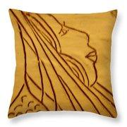 Dear - Tile Throw Pillow