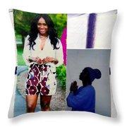 Black Love Matters Throw Pillow