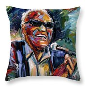 Dear Brother Ray Throw Pillow