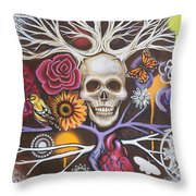 Death Becomes Me Throw Pillow