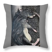 Death By Decit Throw Pillow