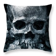 Death Comes To Us All Throw Pillow