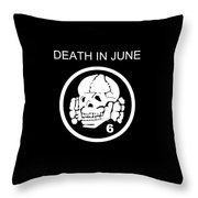 Death In June Throw Pillow