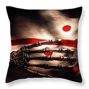 Death Metal Ai Throw Pillow