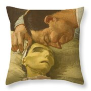 Death Of A Peasant  Throw Pillow