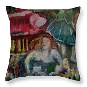 Death Of Beauty Throw Pillow
