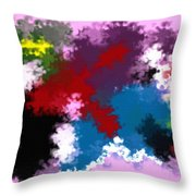 Death Of Discrimination Throw Pillow
