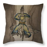Death Of The Demon's Law Throw Pillow
