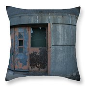 Death Stars Back Door Throw Pillow by Artist Orange