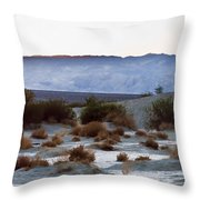 Death Too Throw Pillow