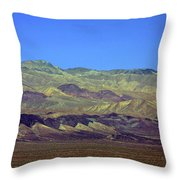 Death Valley - Land Of Extremes Throw Pillow