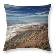 Death Valley 10 Throw Pillow