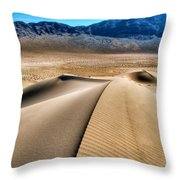 Death Valley 12 Throw Pillow