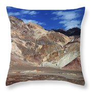 Death Valley 16 Throw Pillow
