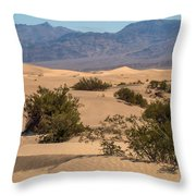 Death Valley 17 Throw Pillow