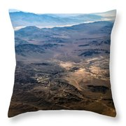 Death Valley 18 Throw Pillow