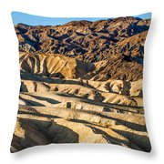 Death Valley 19 Throw Pillow