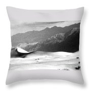 Death Valley 1977 Throw Pillow