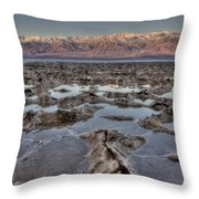 Death Valley 7 Throw Pillow