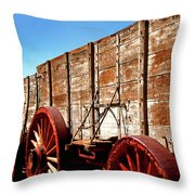 Death Valley Borax Wagons Throw Pillow