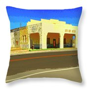 Death Valley Junction Throw Pillow