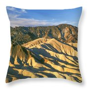 Death Valley National Park, California Throw Pillow