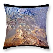 Death Valley Planet Earth Throw Pillow