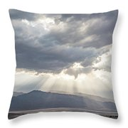 Death Valley Sky Throw Pillow